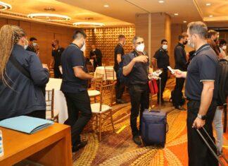 South Africa Cricket Team arrives in Sri Lanka 2021