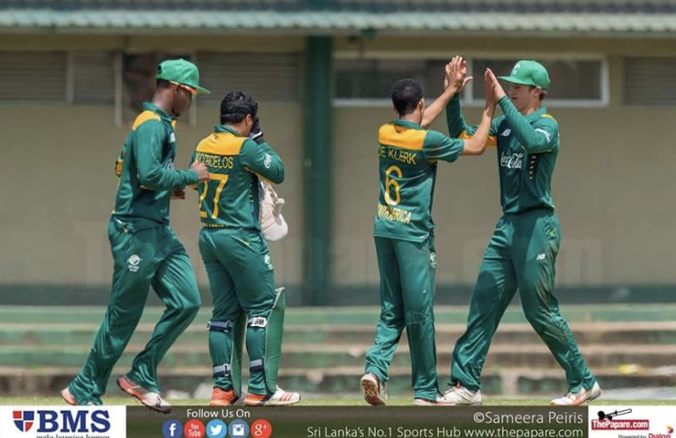 The South Africa U19s had their sweet revenge when they beat the Sri Lanka U19s in the second youth ODI to clinch the three match ODI series, 2-0 today(03rd).