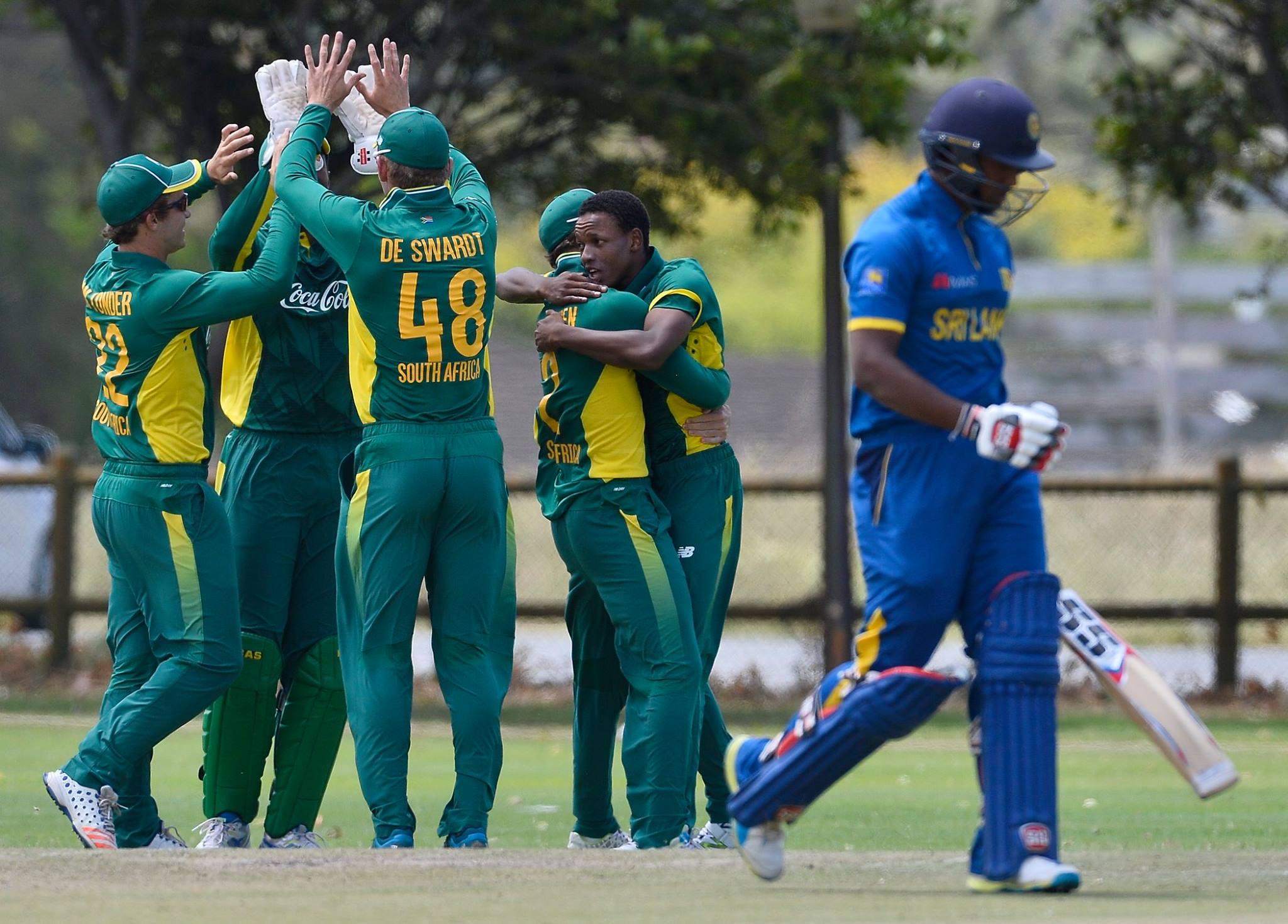Sri Lanka U19 v South Africa U19 26th January ODI