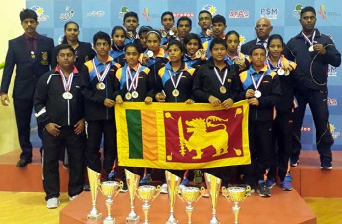 Silver for Sri Lanka Juniors