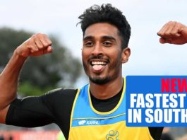 South Asia's new Fastest man