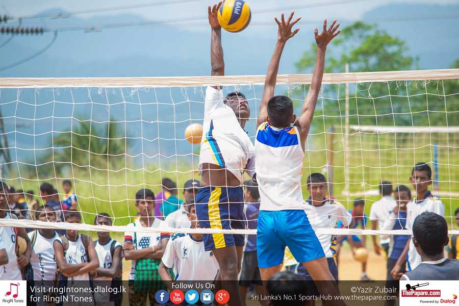 Southern and Central Province teams for DSI Volleyball