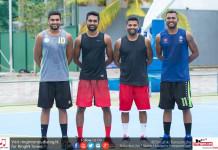 Sri Lanka 3x3 Baksetball Team 2017