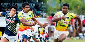 Sri Lanka sevens squad
