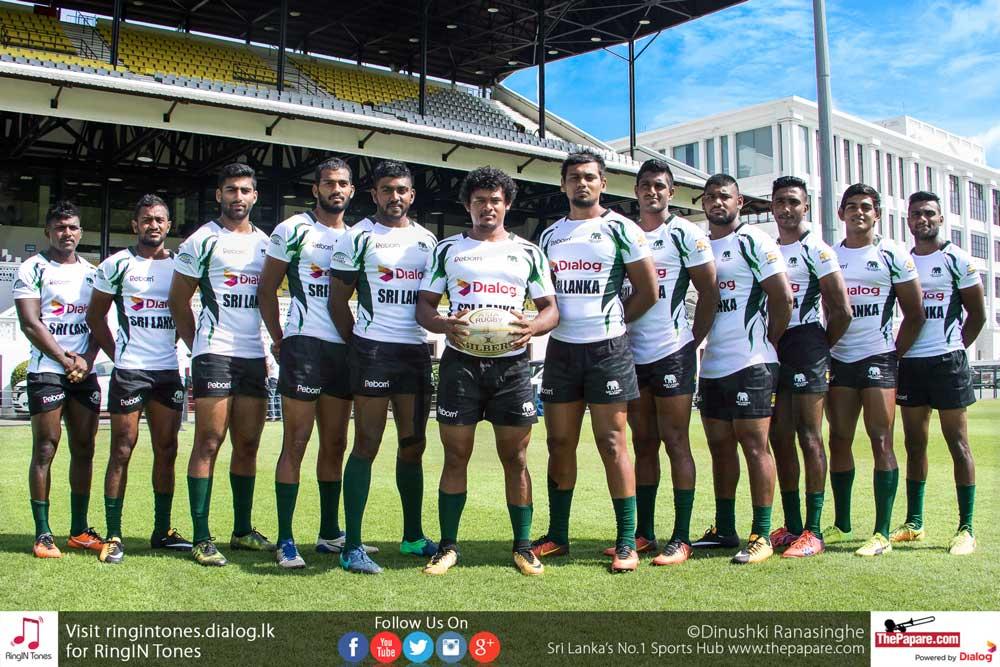 Sri Lanka 7s Rugby Squad 2017