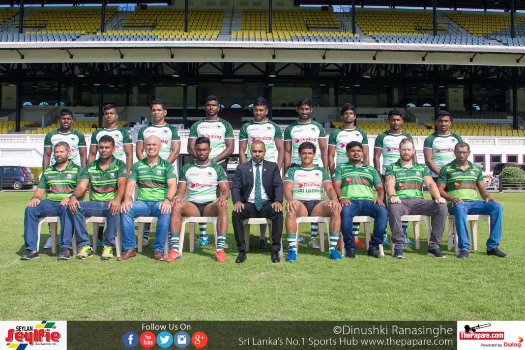 Sri Lanka 7s Rugby Team 2017
