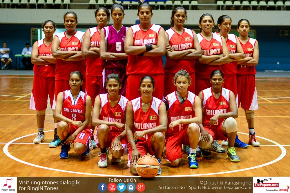 Sri Lanka Basketball team womens