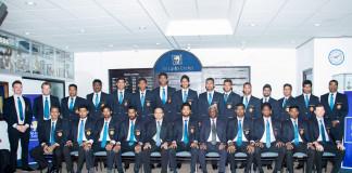 Sri Lanka Cricket T20 squad departure to India