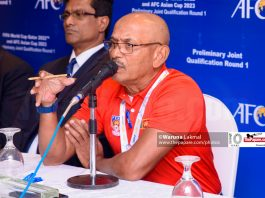Sri Lanka football performance Macau Laos defense errors Packeer Ali