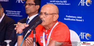 Sri Lanka football performance Macau Laos defense errors Packeer Ali