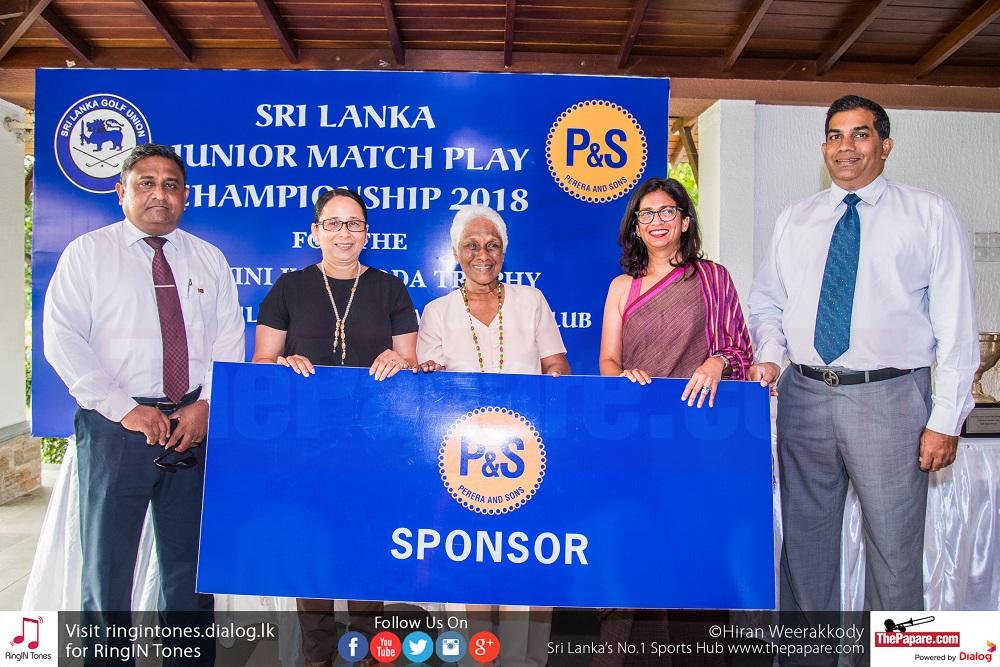 Photo Album: Sri Lanka Junior Golf Championships 2018 | Press Conference