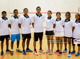 Sri Lanka Junior Squash Team 2019