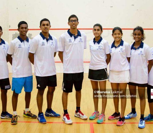 Sri Lanka Junior Squash Team 2019