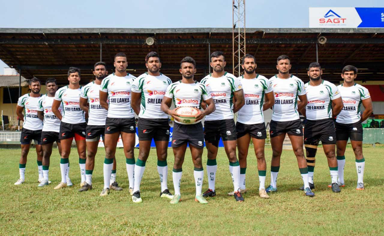 Sri Lanka Men's 7's Team - Asia Sevens Series 3rd Leg