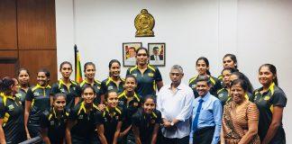 Sri Lanka Netball Team touring Malawi