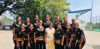 Sri-Lanka Netball tour of Botswana 2019