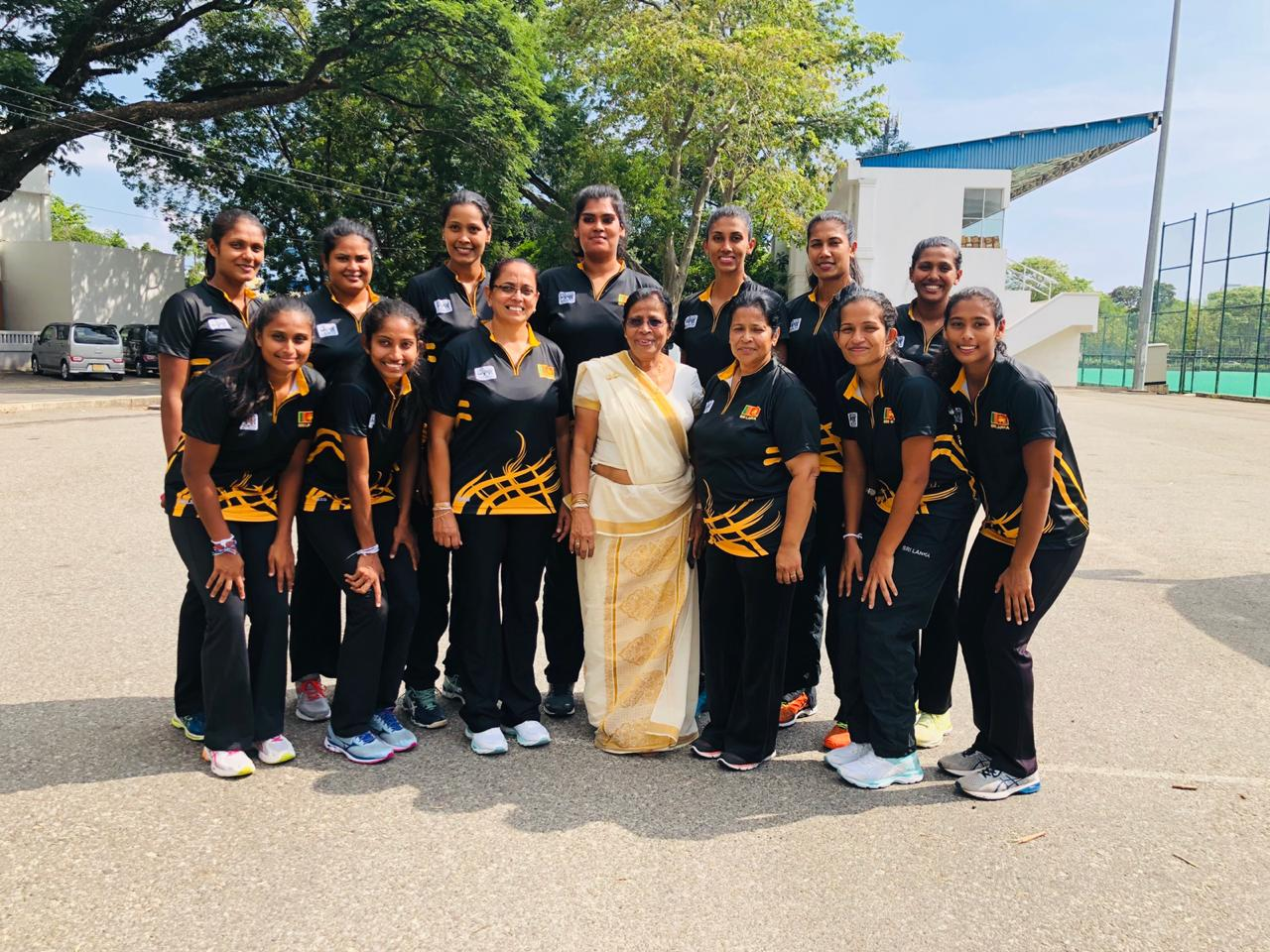 Sri-Lanka Netball tour of Botswana 2019