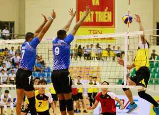 Sri Lanka Ports Authority v Vietnam SC (2017 Asian Men's Club Volleyball Championship)