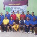Sri Lanka State Services Table Tennis 2015 Champions - Kandy Municipal Council