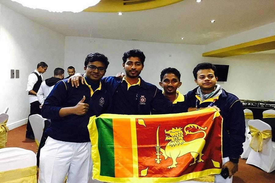 Sri Lanka Mens Champions At Carrom World Championship 2016