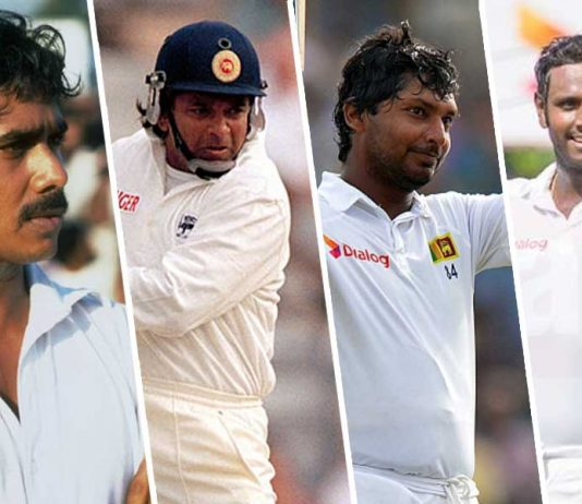 Sri Lanka Test players schools