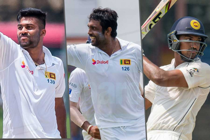 Sri Lanka Test squad again zim