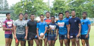 Sri Lanka U18 Rugby Team 2017