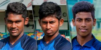 Sri Lanka U19 squad