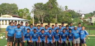 Sri Lanka U19 Football Sqaud 2017