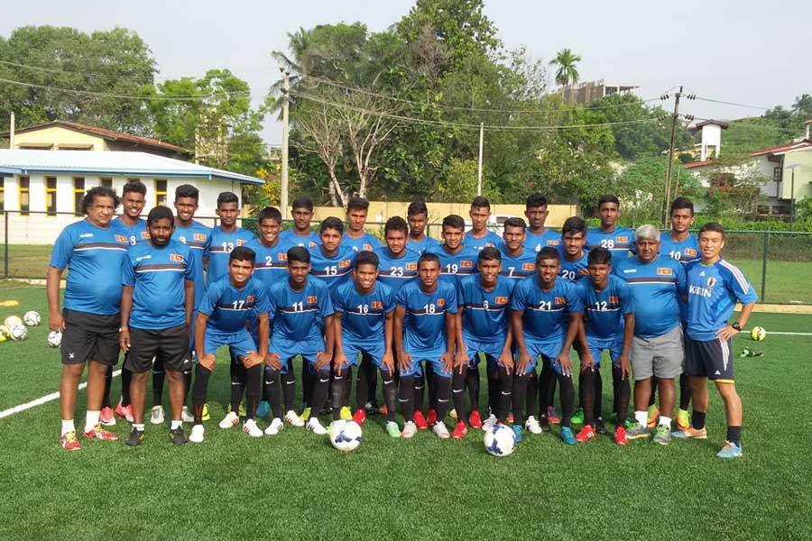 Sri Lanka U19 Football Sqaud 2017