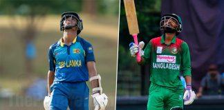 Sri Lanka U19 vs Bangladesh U19 Cricket