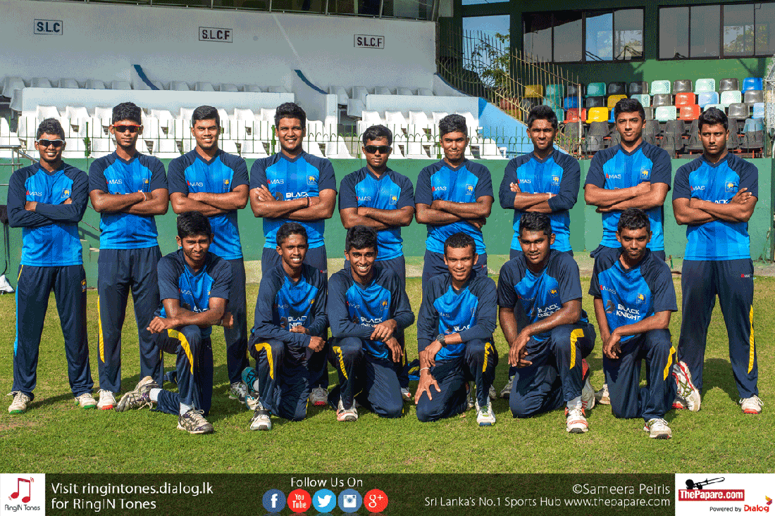 Sri Lanka U19s Keen To Lift The ICC U19 World Cup