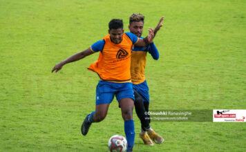 Sri Lanka U23 Football Team Training session