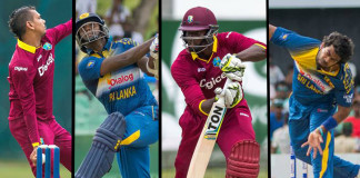 Sri lanka v West indies cricket match