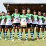 Sri Lanka Women's 7's team