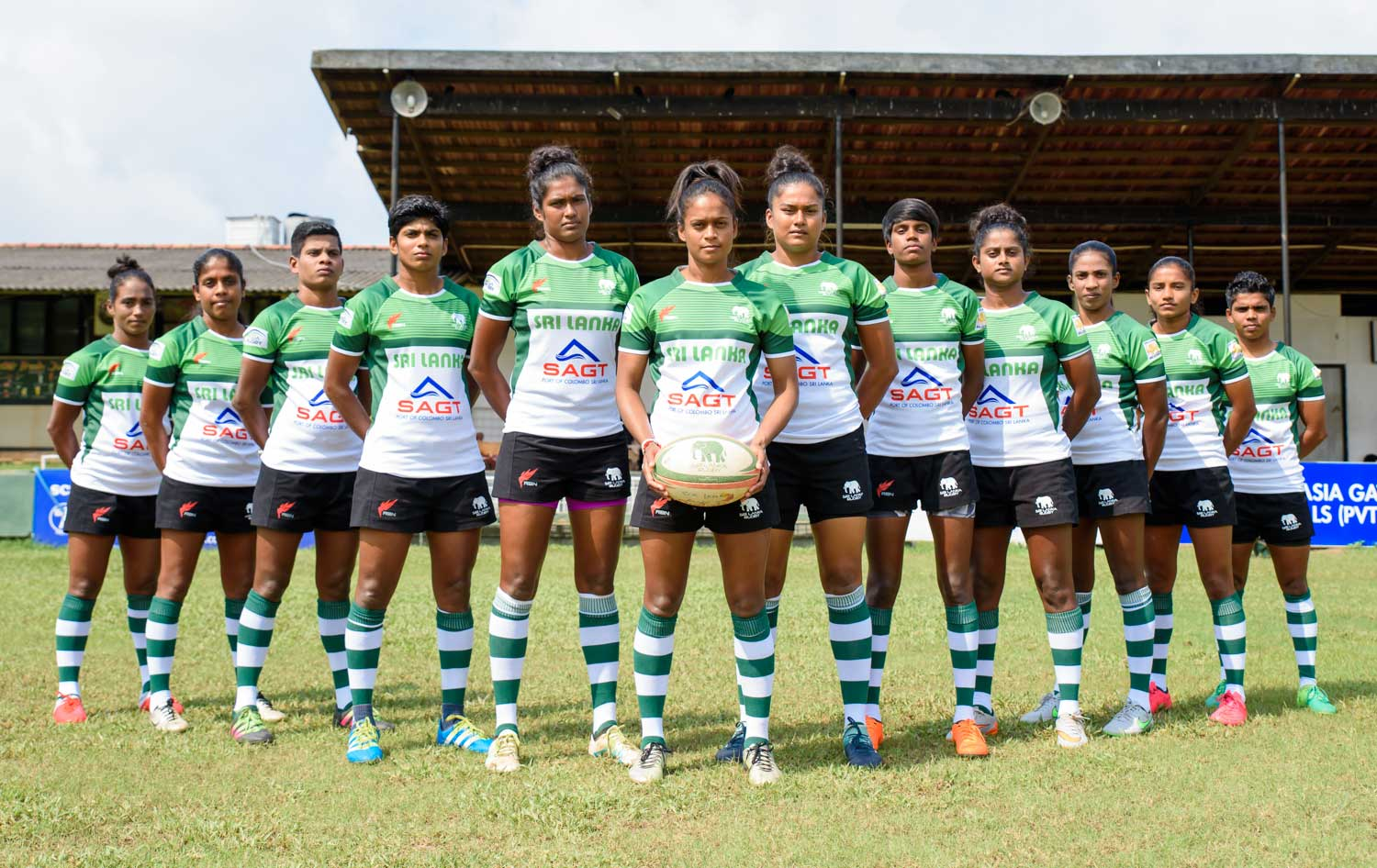 Sri Lanka Women's 7's team