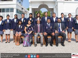 Sri Lanka Women's Watepolo Team 2017