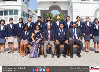 Sri Lanka Women's Watepolo Team 2017
