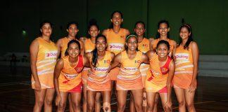 Sri Lanka Youth Netball Squad - 11th Asian Youth Netball Championship 2019
