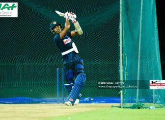 Sri Lanka practice session