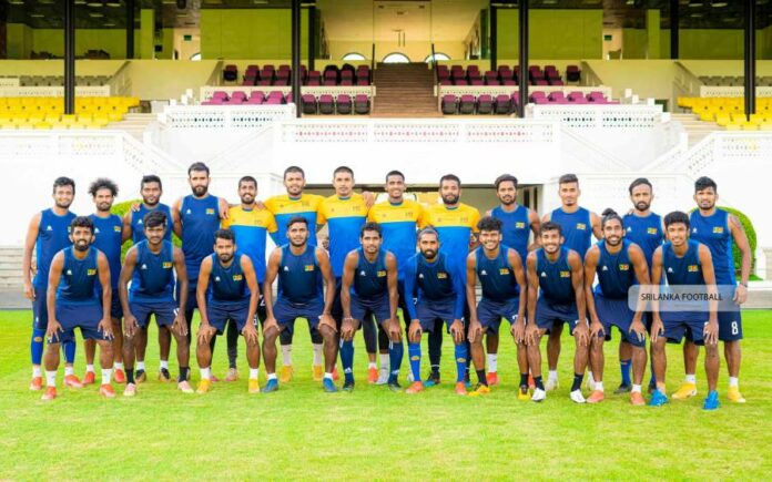 Sri Lanka squad for SAFF Championship 2021