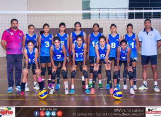Sri Lanka u-23 women's Volleyball team
