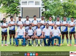 Sri Lanka u18 7s rugby team 2017
