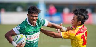 Sri Lanka v China - Asia Rugby U20 7s Series 2017