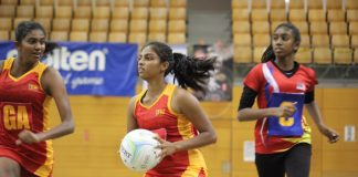 Sri Lanka v Malaysia - Semi Final - 11th Asian Youth Netball Championship 2019