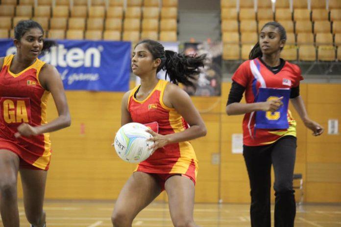 Sri Lanka v Malaysia - Semi Final - 11th Asian Youth Netball Championship 2019