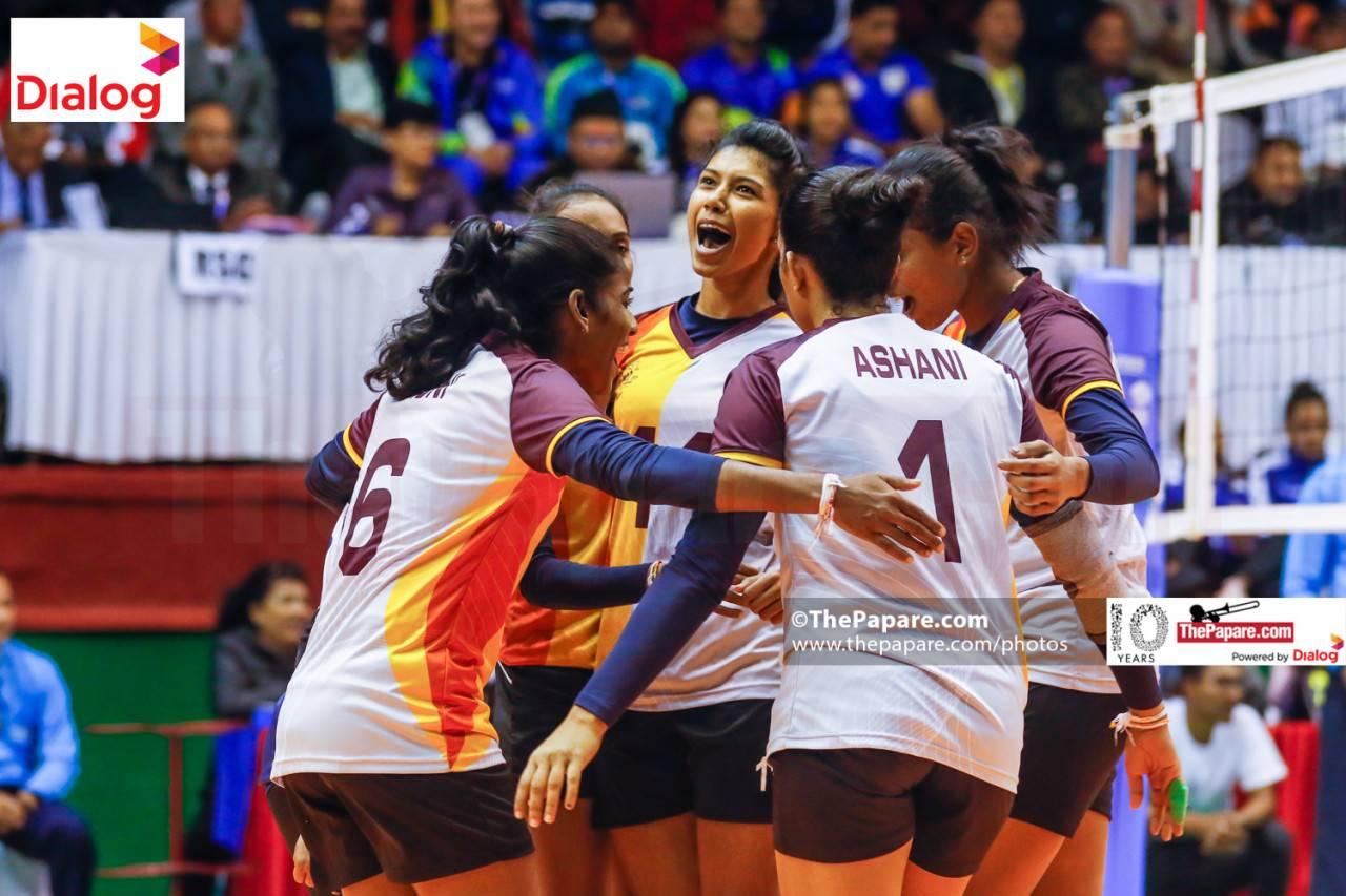 Sri Lanka v Maldives - Women's Volleyball 2019