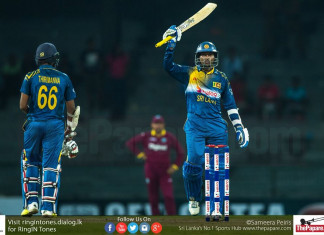 Sri Lanka v West Indies 1st ODI - Tillakaratne Dilshan