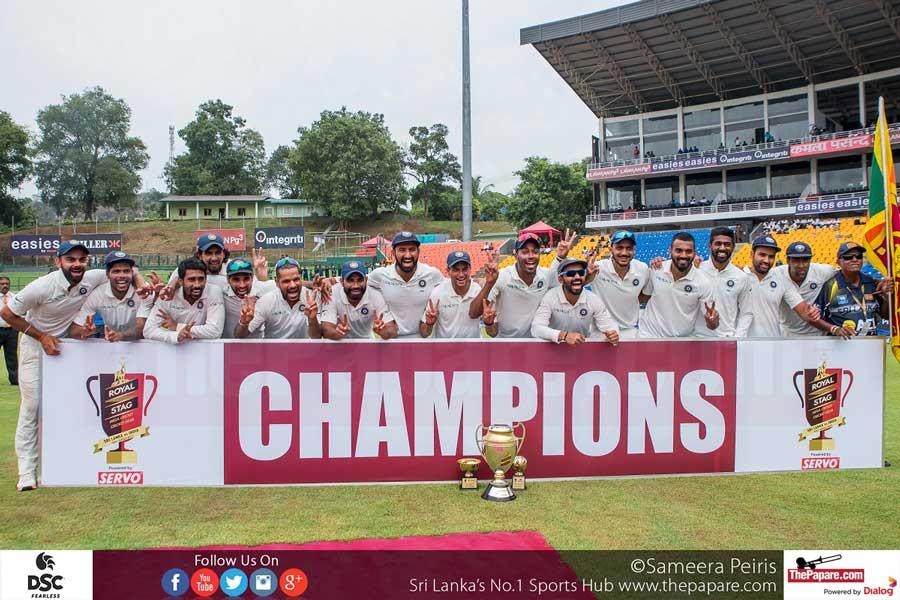 Sri Lanka vs India 2017 Series Winner