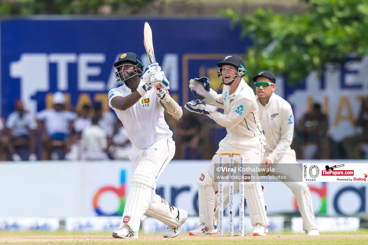 Sri Lanka vs New Zealand - 1st Test – Day 2